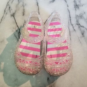 Other - Rainbow Glitter Baby Jelly Sandles